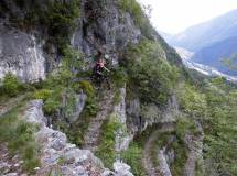 biken am monte grappa - brenta trails (Erich)