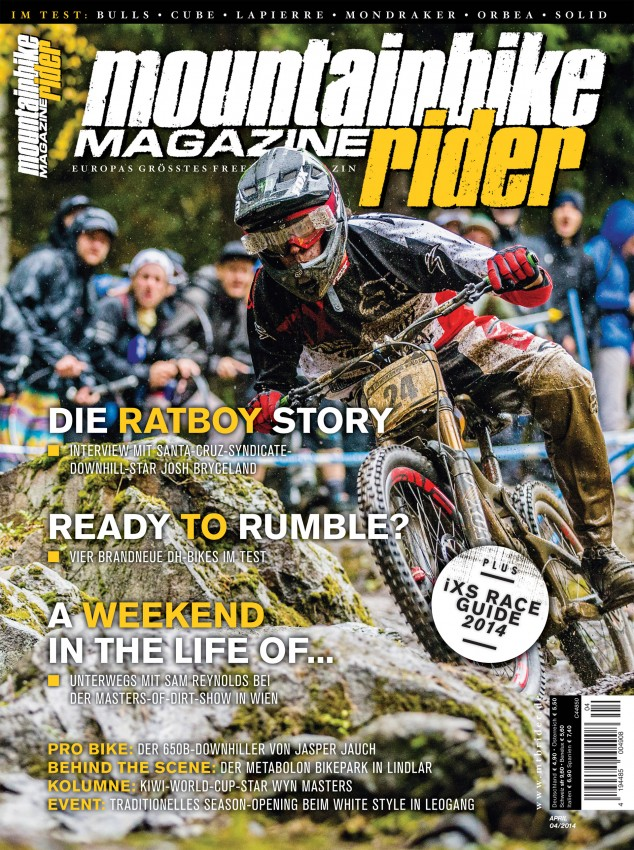 mountainbike rider 04/2014