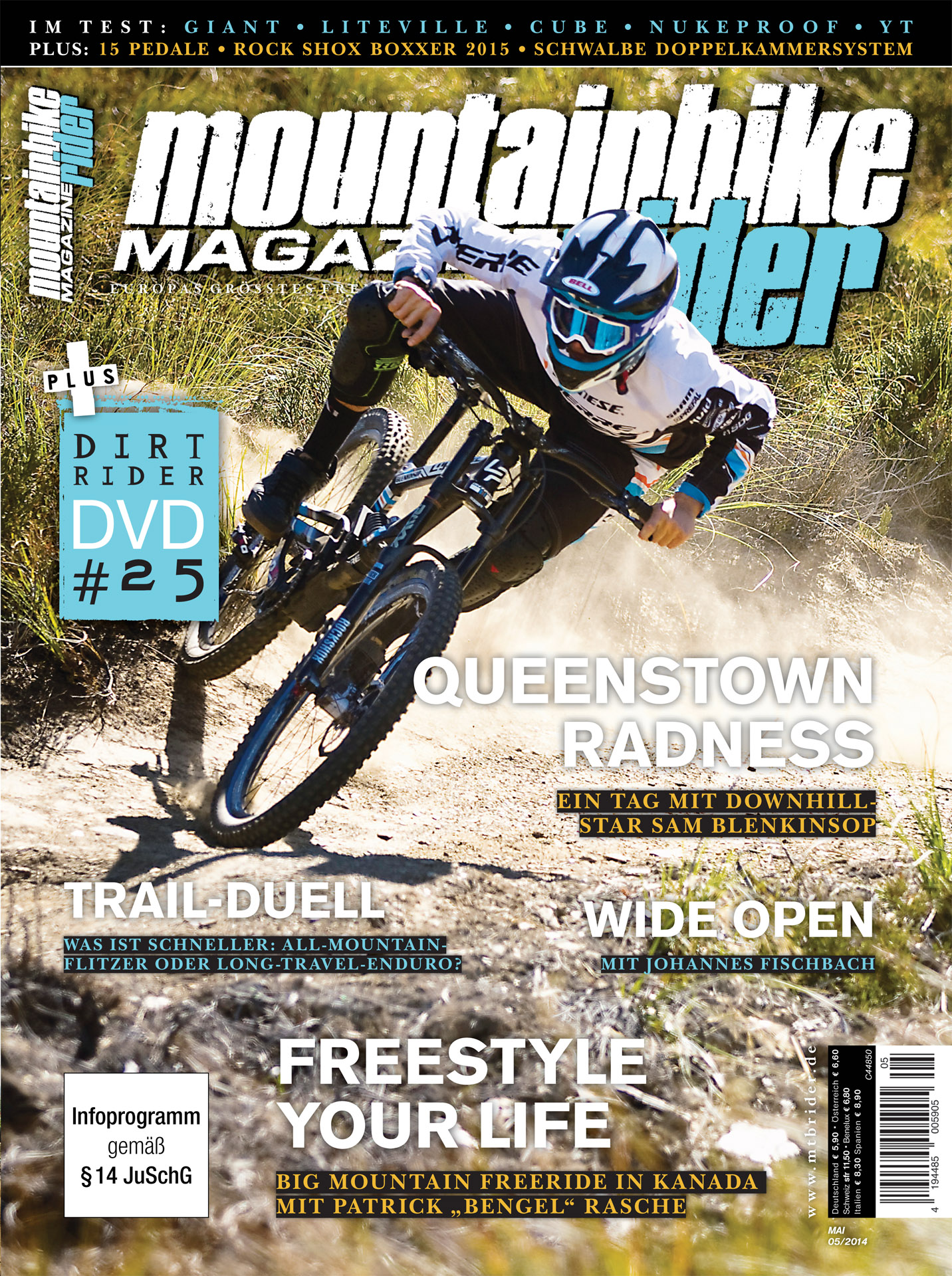 Mountainbike Rider Cover Mai