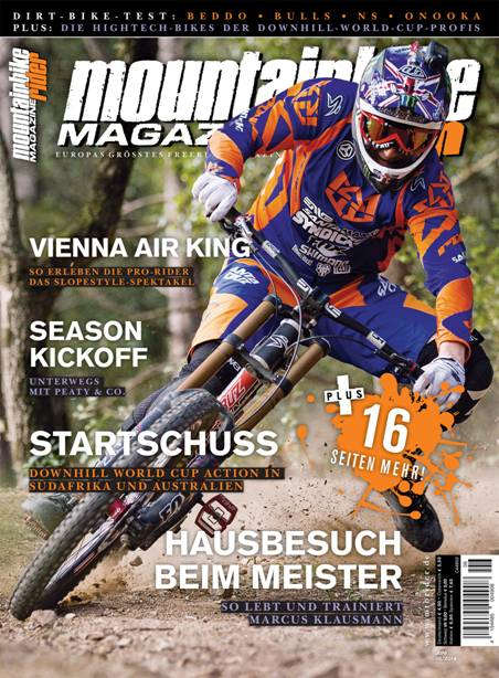 Mountainbike Rider Cover Juni