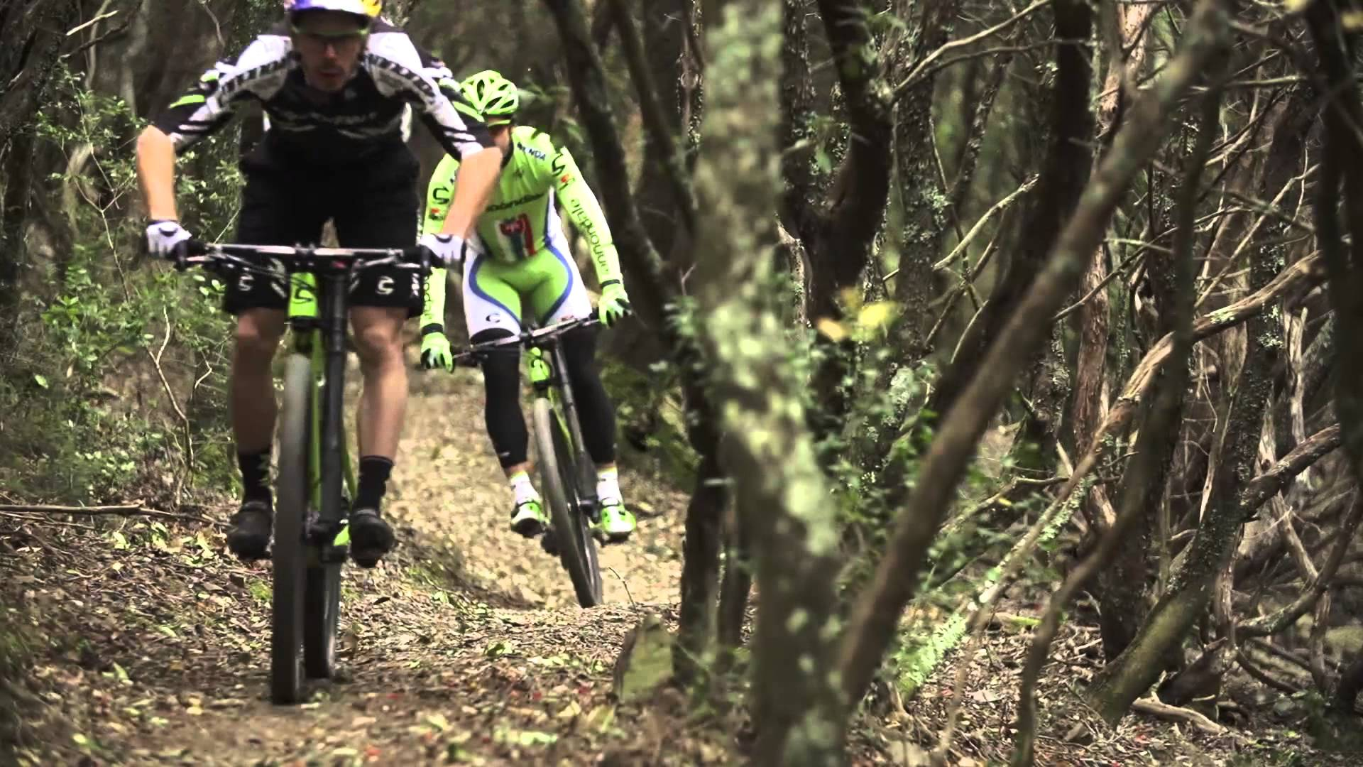 Peter Sagan Goes Mountain Biking
